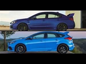 Ford Focus Rs 2018 : 2018 subaru sti vs ford focus rs youtube ~ Melissatoandfro.com Idées de Décoration