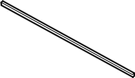 Lexus Windshield Wiper Blade Refill. Right