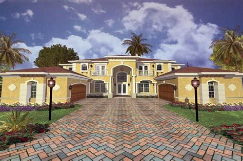 Luxury Home with 5 Bdrms 8008 Sq Ft House Plan #107 1065