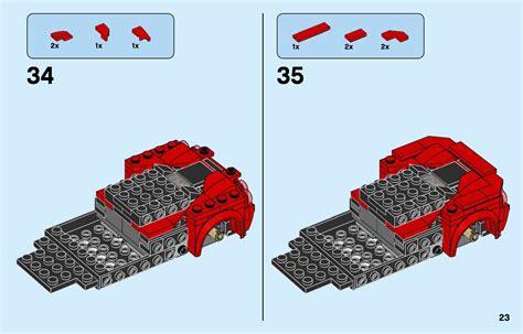 Building instructions for 76895, ferrari f8 tributo, lego® speed champions. LEGO 76895 Ferrari F8 Tributo Instructions, Speed Champions