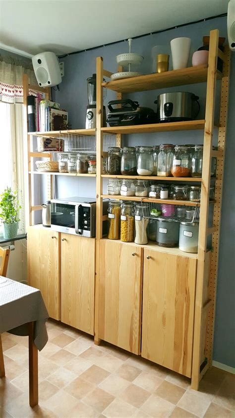 ikea ivar kitchen pantry cabinet ikea freestanding