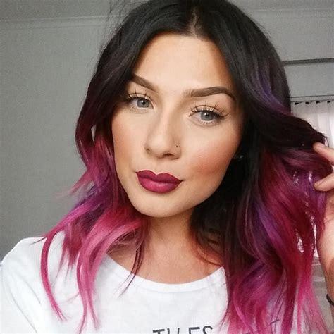 Purple ~ Pink ~ Magenta Ombre Hair Hair Hair Hair