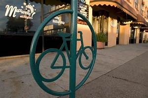 New Bike Racks Encourage City Cyclists  U2013 Anewscafe Com