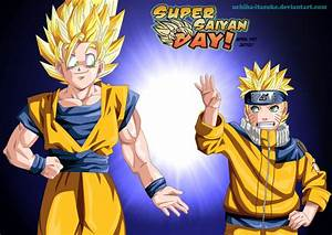 Goku e Naruto Super Saiyan Day by uchiha-itasuke on DeviantArt