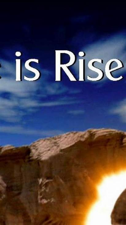 Risen He Easter Iphone Happy Wallpapers Backgrounds