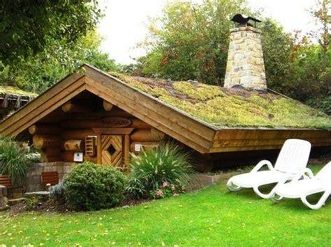 Maasauna Mit Holzbefeuertem Kamin  Picture Of Garden