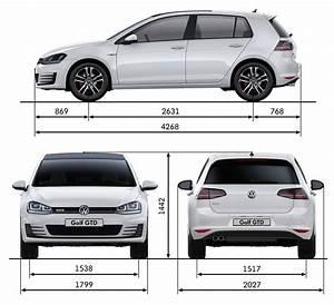 Dimension Volkswagen Up : volkswagen golf gtd 2014 cartype ~ Medecine-chirurgie-esthetiques.com Avis de Voitures