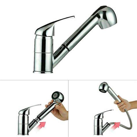 kitchen taps mixer tap sink modern faucet spray pull chrome onbuy