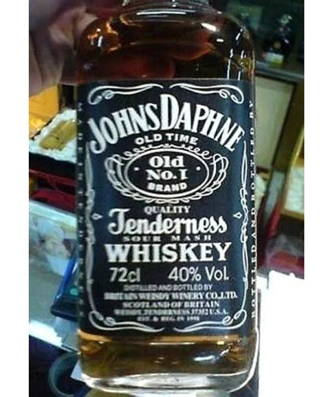 Johns Daphne Tenderness Whiskeychinese Fake Brands And