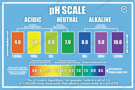 ph balance  alkaline level charts  track   progress