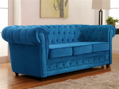 vente canape chesterfield canapé 3 places en velours chesterfield canapé vente