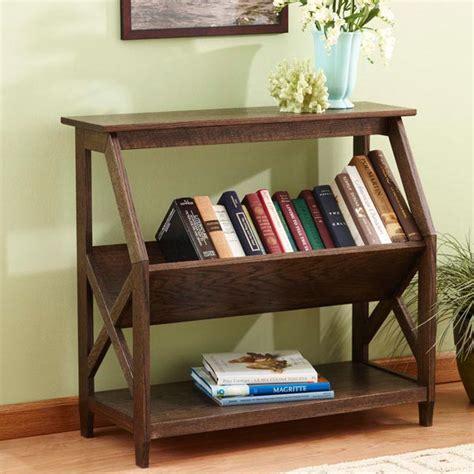built   tilt book nook bookcase woodworking plan