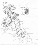 Megatron Classic Drawing Revisionist Getdrawings Deviantart sketch template