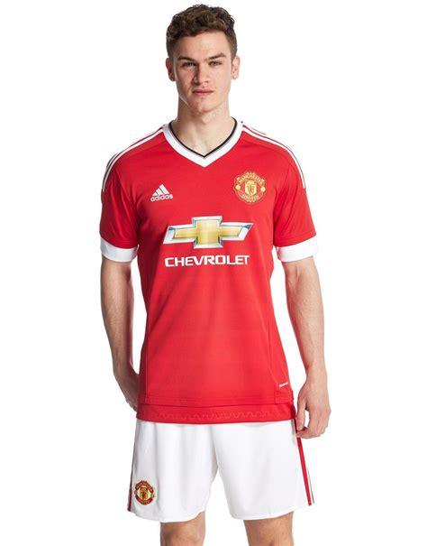 Manchester United 15/16 Adidas Home Kit   15/16 Kits ...