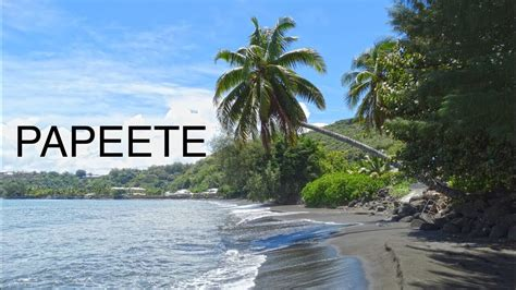 Papeete Tahitifrench Polynesia Hd Youtube