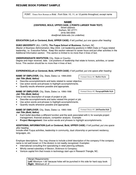 Exles Of Resume Titles by Resume Title Exles Berathen