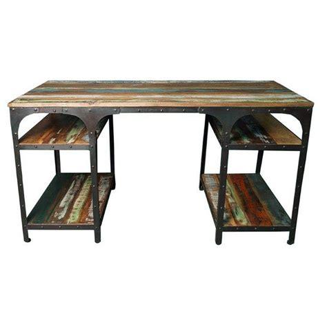 meuble bureau metal bureau bois et fer myqto com