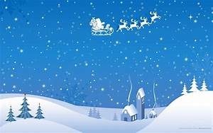 Christmas Snow Scene Wallpapers