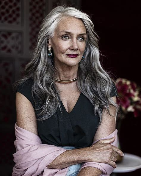 gray hair women ideas  pinterest  gray