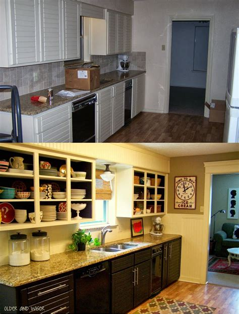 What Paint To Use On Kitchen Cupboard Doors by Painting A Tile Back Splash And More Easy Kitchen Updates