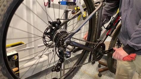 chain bike stuck