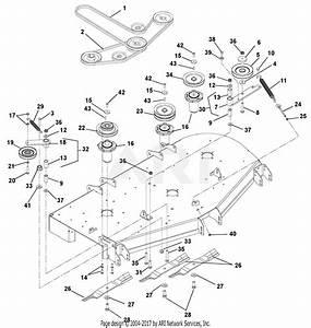 Mower Deck Belt Diagram