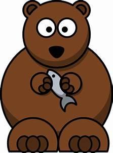 Cartoon Bear Clip Art at Clker.com - vector clip art ...