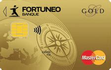 plafond carte mastercard gold carte fortuneo capitaine banque