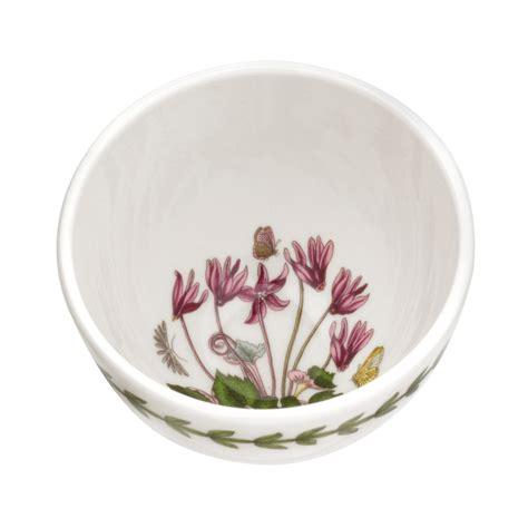 portmeirion botanic garden bowls portmeirion botanic garden set of 4 small cyclamen bowls