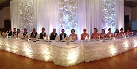 wedding main table decor wedding head table a few of my favourite things