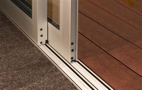 Flush Window Sill by Flush Sill Feature For Popular Metro Series Sliding Doors