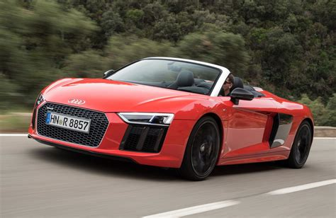 audi supercar convertible 2017 audi r8 v10 spyder review carhoots