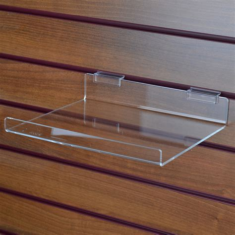 Right Angle Shelf With Lip The Display Centre