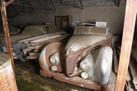 Antique Cars Found In Barn by 18 Million Worth Of Classic Cars Found In A 100 Year
