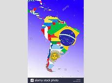 Symbolbild Lateinamerika Suedamerika und Mittelamerika