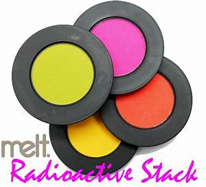 Melt Cosmetics Radioactive Eyeshadow Stack