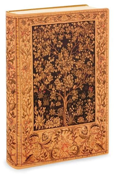 barnes and noble journals antique tree of printed italian lined leather journal