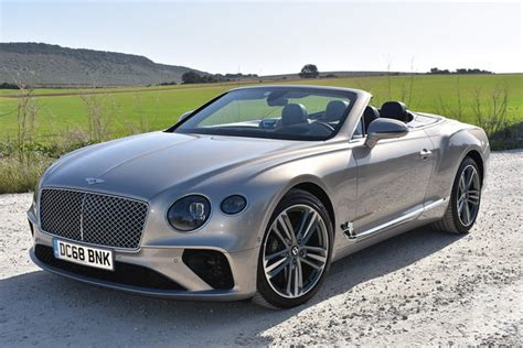 bentley continental gt convertible  drive review