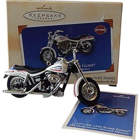 hallmark keepsake ornament harley davidson motorcycle from