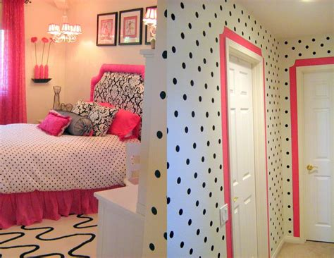 Cute Pink, Black And White Bedroom, Love This Room. Next