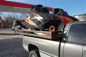 diy sled deck kit snowest snowmobile forum