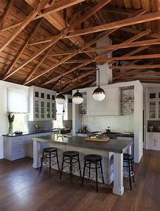 30 Stunning interior living spaces with exposed ceiling