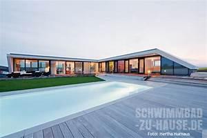 Haus L Form : das wow haus schwimmbad zu ~ Buech-reservation.com Haus und Dekorationen