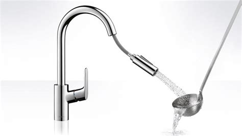 focus kitchen mixer spray swivel spout hansgrohe int