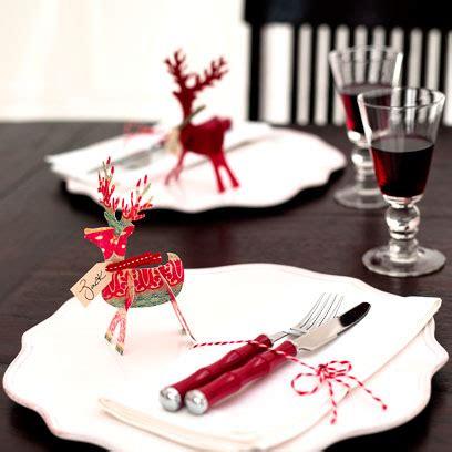 How To Make Christmas Reindeer Place Cards Christmas
