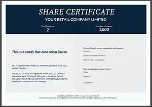 shareholder certificate pertaminico With shareholding certificate template