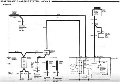 1984 Mustang Charging System Diagram by Defective Charging System Third Generation F