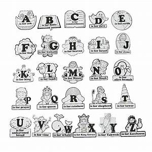 88 best images about bible alphabet for preschool on for Bible alphabet letters