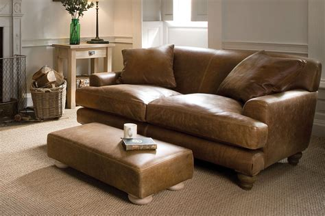 Leather Sofa Upholstery by The Low Arm Leather Sofa By Indigo Furniture