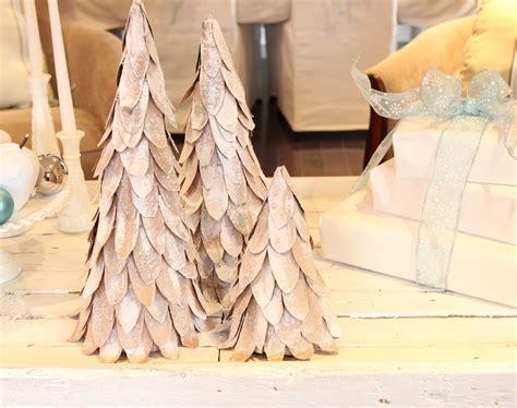 christmas tree out of cardboard cardboard christmas tree tutorial 7510